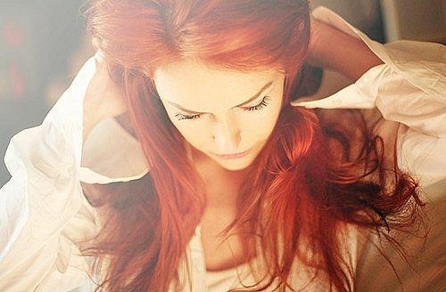 фото рыжей женщины